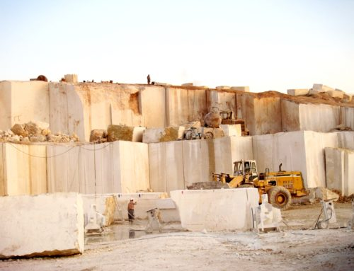 How is Travertine formed?
