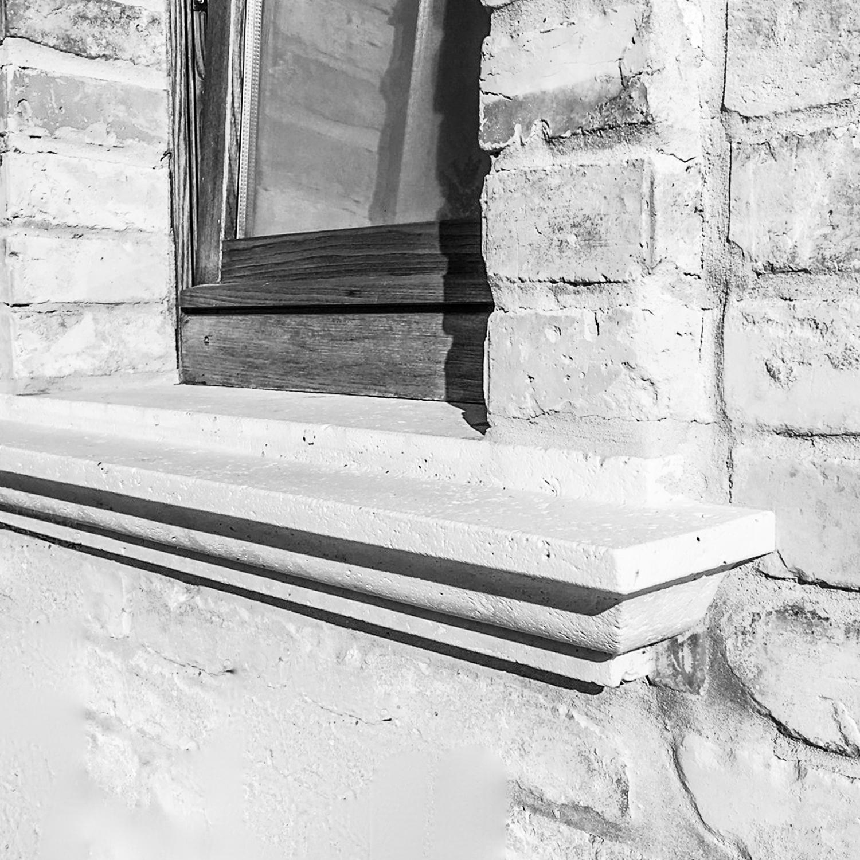 Davanzale Interno Della Finestra davanzali per finestra in travertino made in italy | sitem