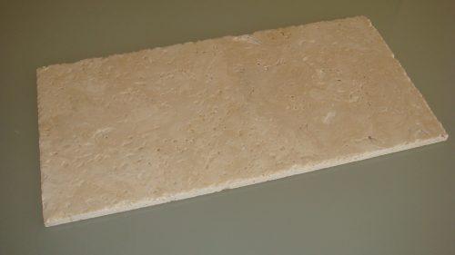 travertino ivory-sbrecciato-spazzolato-piastrelle