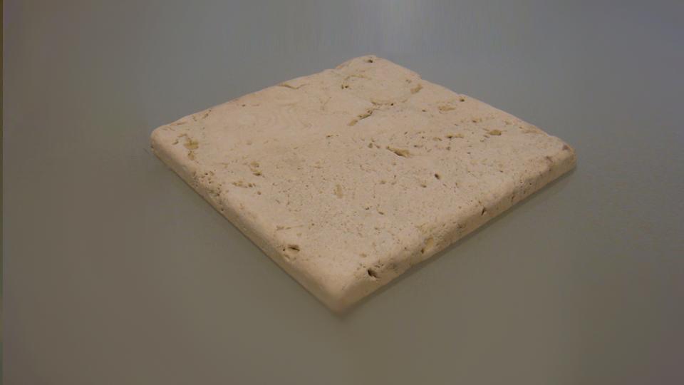 travertino borattato-anticato-chiaro mattonella