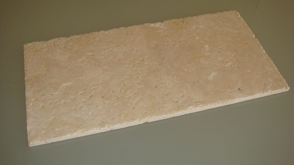 travertino Spazzolato-cesellato-non-stuccato